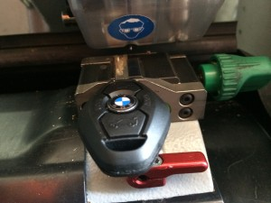BMW key cutting